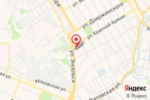 Адрес Газпром межрегионгаз Курск, абонентская служба в г. Курск на карте