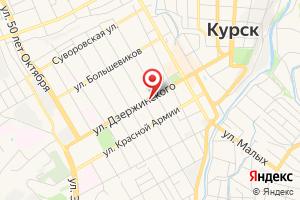 Адрес Курское РДУ на карте