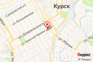 Адрес Курскспецгаз на карте