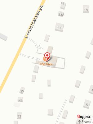 Мясной ресторан The Бык на карте