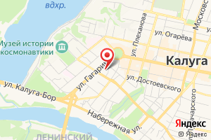 Адрес Системный оператор Единой энергетической системы, представительство в Калужской области на карте
