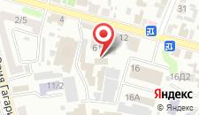 Отель Ан-2 на карте