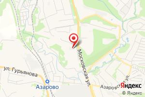 Адрес Электрическая подстанция Азарово на карте