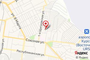 Адрес РЭС Железнодорожного округа на карте