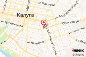 Адрес Оборонэнерго филиал Юго-Западный район электрических сетей Калужский на карте