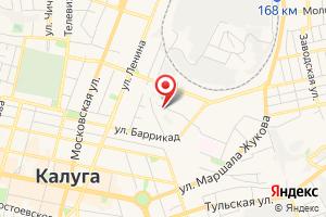 Адрес Газпром газораспределение Калуга на карте