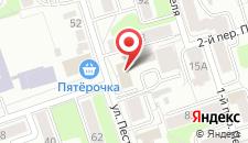 Гостиница Привал на карте