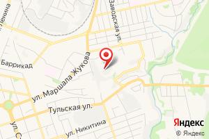Адрес Техногаз-Сервис на карте