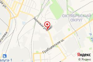 Адрес Газпром межрегионгаз Калуга на карте