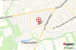 Адрес Электрическая подстанция Радищево на карте