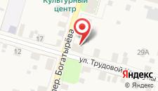Отель Устюжна на карте
