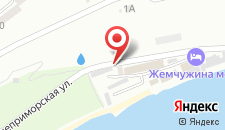 Гостиница Жемчужина моря на карте