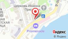 Гостиница Графская пристань на карте