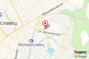 Адрес ТПС №426 Малоярославец на карте