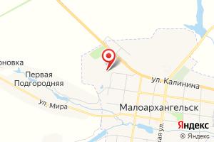 Адрес Газпром газораспределение Орел, филиал пос. Покровское, Малоархангельский газовый участок на карте