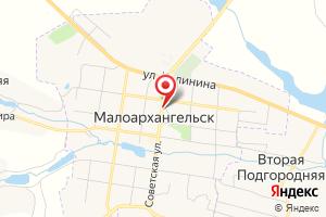 Адрес Газпром межрегионгаз Орёл, абонентский отдел в г. Малоархангельск на карте