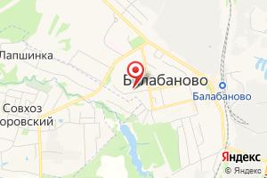 Адрес Газпром межрегионгаз Калуга, Территориальный участок г. Малоярославец, пункт учета Балабаново на карте