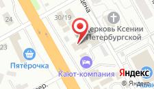 Отель Кают-Компания на карте