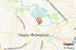 Адрес Газпром межрегионгаз Москва, Наро-Фоминская районная служба на карте
