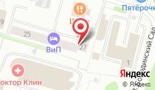 Отель ВИП на карте