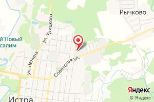 Адрес Красногорскмежрайгаз Истринская РЭС на карте