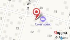 Гостиница Экотель Снегирек на карте