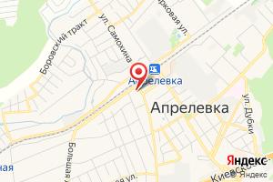 Адрес Мособлэнерго Участок Апрелевский на карте