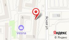 Апартаменты На Ясной, 5 на карте