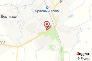 Адрес Газовый участок, филиал Бежецкмежрайгаз на карте
