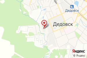 Адрес Водозаборный узел № 2 город Дедовск на карте