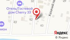 Гостевой дом Лазурный 38 на карте