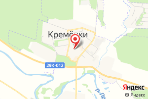 Адрес Газпром межрегионгаз Калуга, Территориальный участок г. Белоусово, пункт учета Кременки на карте
