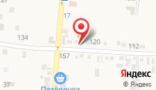 База отдыха Оранжевое лето на карте