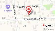 Гостевой дом на Комсомольской 41 на карте