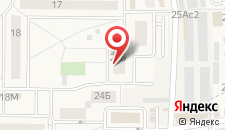 Апартаменты Остров Андреевка на карте