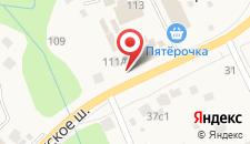 Отель Вороново на карте