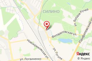Адрес Промгаз на карте
