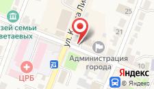 Гостиница Таруса на карте