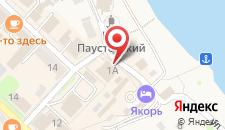 Гостиница Якорь на карте