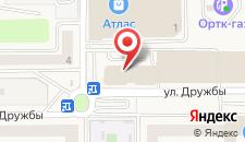 Гостиница НЭП-Дубки на карте