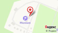 Санаторий Молния на карте