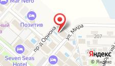 Гостевой дом Островок-1 на карте