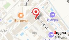Курортный отель Ателика Гранд Меридиан Витязево на карте