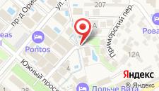 Пансионат Платан Resort на карте