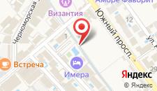 Отель Имера на карте