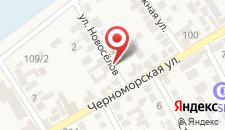 Гостевой дом Новоселов на карте