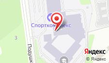 Отель МГИМО на карте