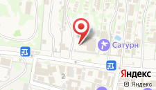 База отдыха Кубань на карте