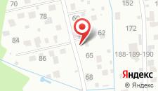 Гостиница Час Пик на карте