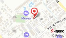 Гостевой дом Анапские Дюны на карте